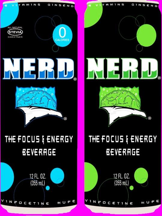 Nerd Energy Drink!